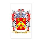 Butterworth Sticker (Rectangle 50 pk)