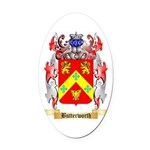 Butterworth 2 Oval Car Magnet