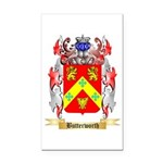 Butterworth 2 Rectangle Car Magnet