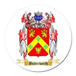 Butterworth 2 Round Car Magnet