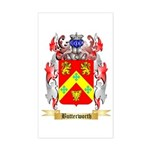 Butterworth 2 Sticker (Rectangle)