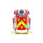 Butterworth 2 Sticker (Rectangle 10 pk)
