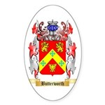Butterworth 2 Sticker (Oval 10 pk)