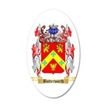 Butterworth 2 20x12 Oval Wall Decal
