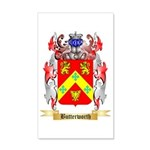 Butterworth 2 35x21 Wall Decal