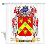 Butterworth 2 Shower Curtain