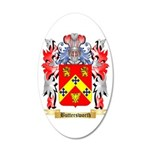 Buttersworth 20x12 Oval Wall Decal