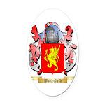 Butterfield Oval Car Magnet