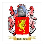Butterfield Square Car Magnet 3