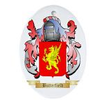 Butterfield Ornament (Oval)