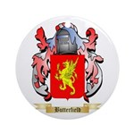 Butterfield Ornament (Round)