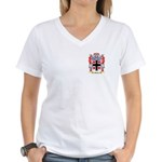 Butter Women's V-Neck T-Shirt
