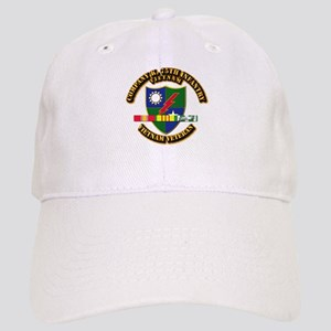 Army - Company K, 75th Infantry w SVC Ribbons Cap