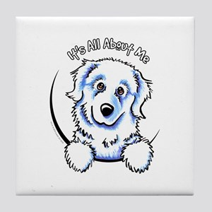 Great Pyrenees IAAM Tile Coaster