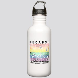Because Stainless Water Bottle 1.0L