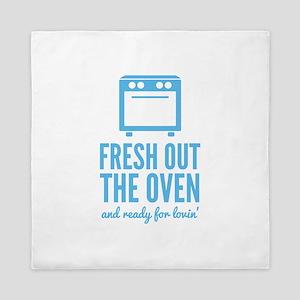 Fresh Out The Oven Queen Duvet