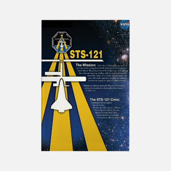 STS 121 Shuttle Mission Poster Rectangle Magnet