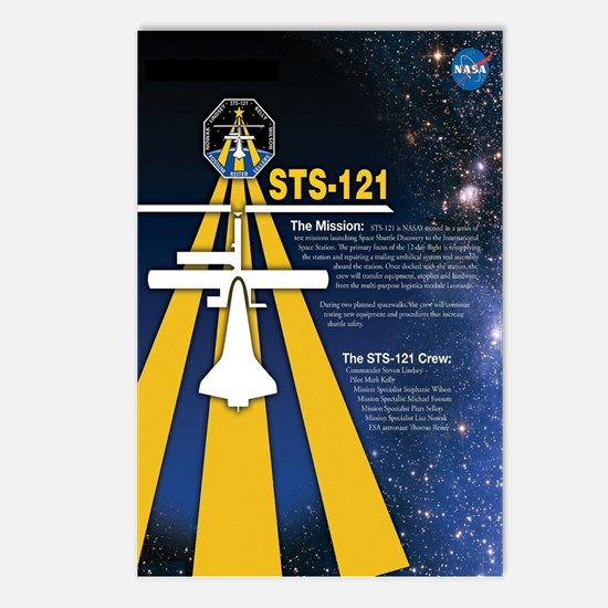 STS 121 Mission Poster Postcards (Package of 8)