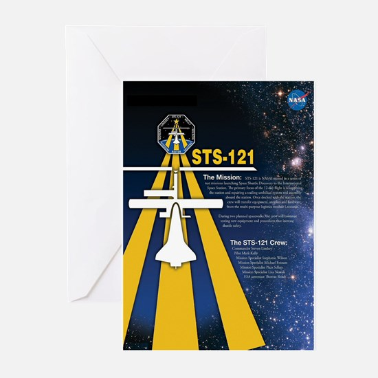 STS 121 Mission Poster Greeting Cards (Pk of 10)