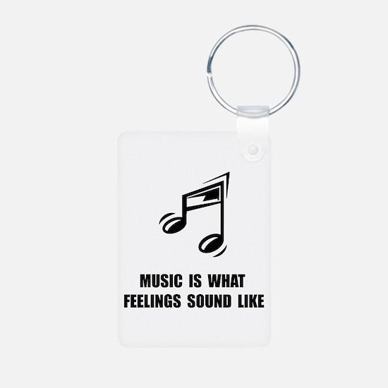 Music Feelings Keychains