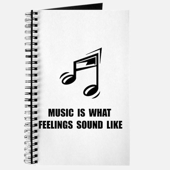 Music Feelings Journal