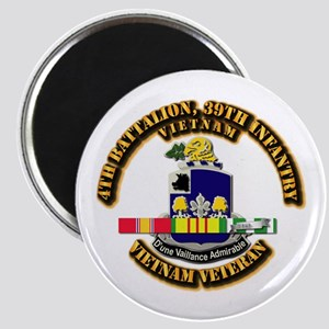Army - 4th Battalion, 39th Infantry w SVC Ribbons