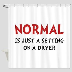 Normal Dryer Shower Curtain