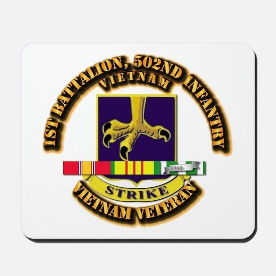 Army - 1st Battalion, 502nd Infantry w SVC Ribbon