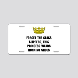 Princess Run Aluminum License Plate