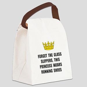Princess Run Canvas Lunch Bag
