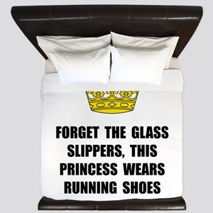 Princess Run King Duvet