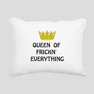 Queen Everything Rectangular Canvas Pillow