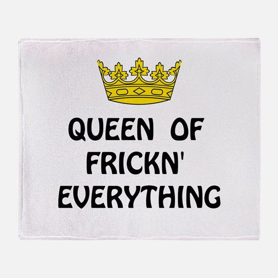 Queen Everything Throw Blanket