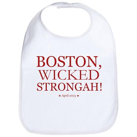 Boston, Wicked Strongah! Bib