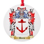 Byers Round Ornament