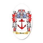 Byers Oval Car Magnet