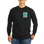 Bye Long Sleeve Dark T-Shirt