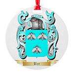 Bye Round Ornament