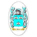 Bye Sticker (Oval 50 pk)