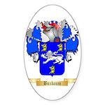 Buxbaum Sticker (Oval 50 pk)