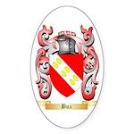 Bux Sticker (Oval 10 pk)
