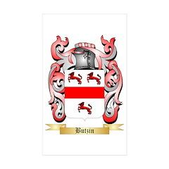 Butzin Sticker (Rectangle 10 pk)