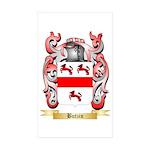 Butzin Sticker (Rectangle 50 pk)