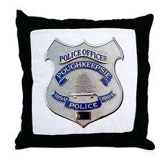 Poughkeepsie Police Throw Pillow