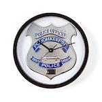 Poughkeepsie Police Wall Clock