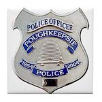 Poughkeepsie Police Tile Coaster
