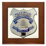 Poughkeepsie Police Framed Tile