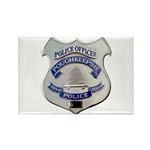Poughkeepsie Police Rectangle Magnet (100 pack)