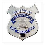 Poughkeepsie Police Square Car Magnet 3