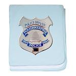 Poughkeepsie Police baby blanket
